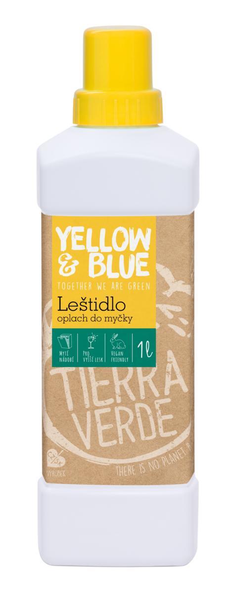 Yellow & Blue Oplach - leštidlo do myčky 1 l (láhev) 1 l