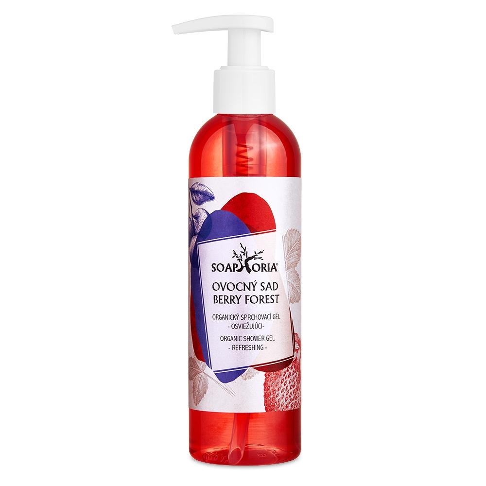 Ovocný sad - organický sprchový gel