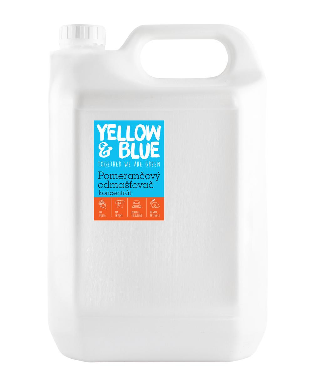 Pomerančový odmašťovač - koncentrát 5 l (bag in box)