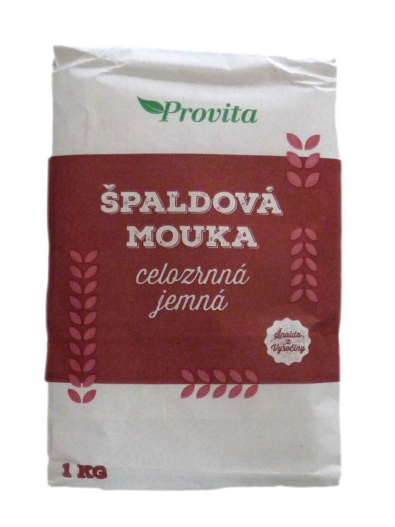 VEGA PROVITA CL Mouka špaldová celozrnná JEMNÁ 1kg 1 kg
