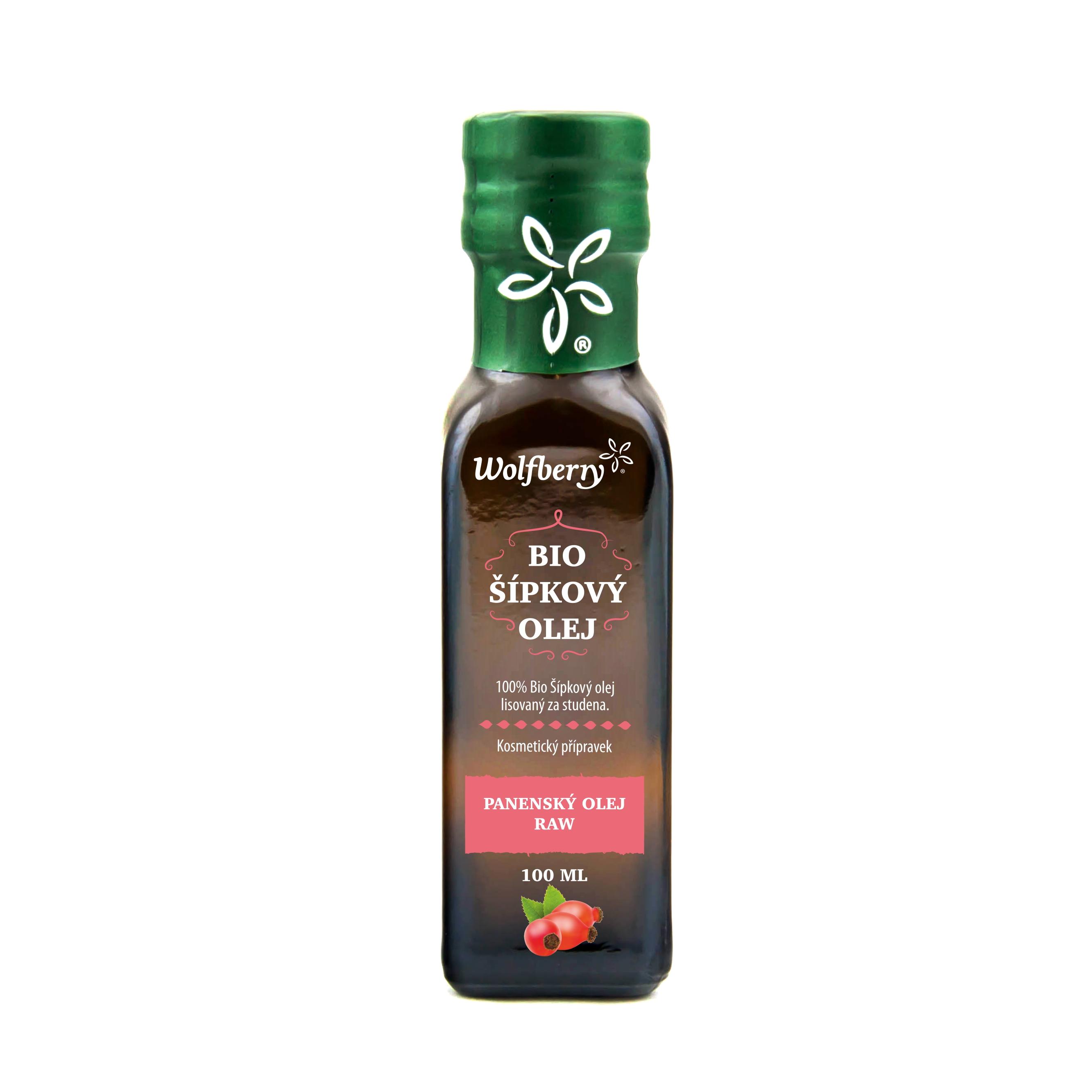 Šípkový olej BIO 100 ml Wolfberry*