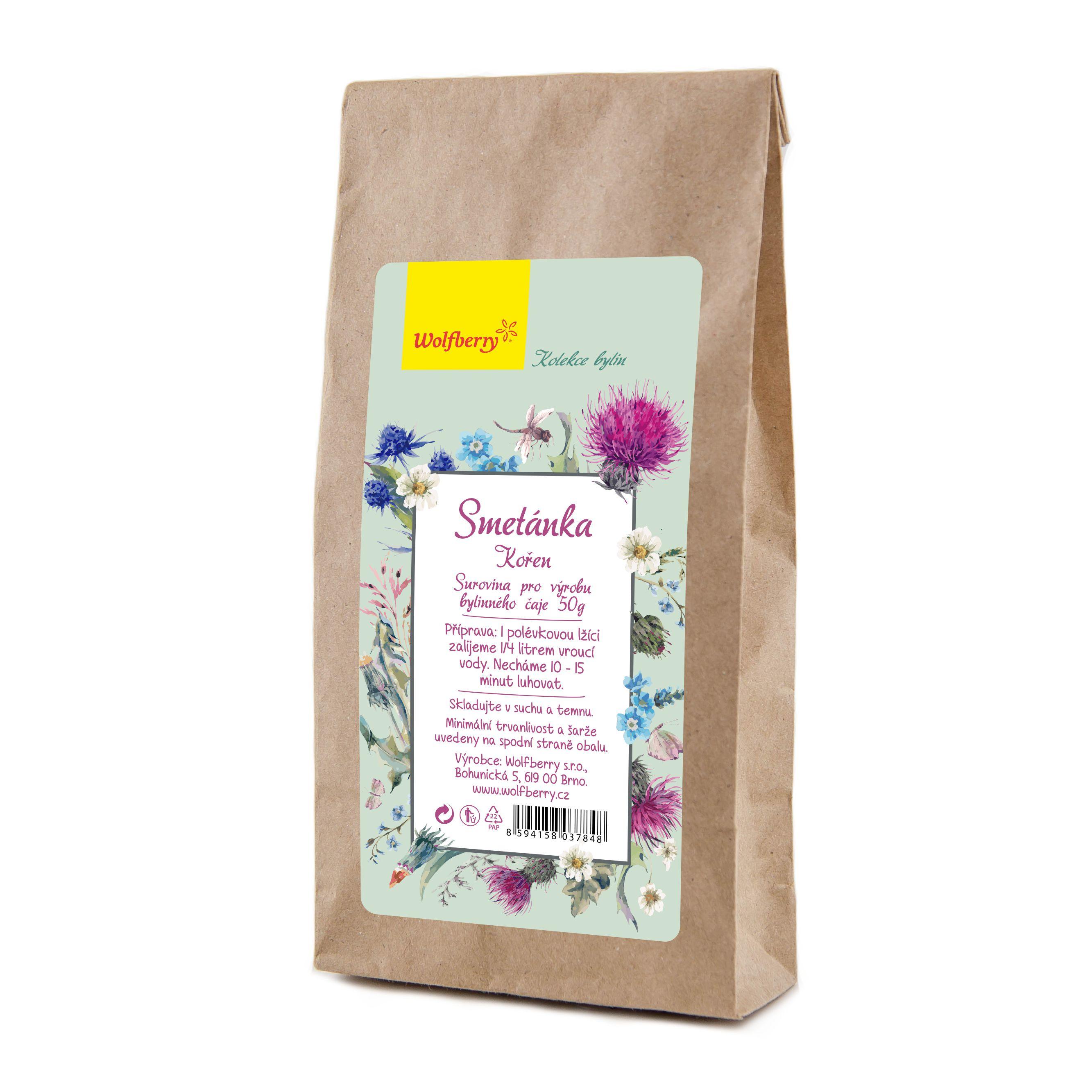 Smetánka bylinný čaj 50 g Wolfberry