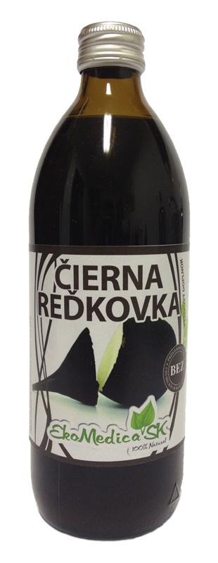 Šťáva Černá ředkvička 100% - 500 ml
