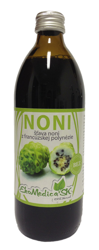 EkoMedica Šťáva Noni 100% - 500 ml 500 ml