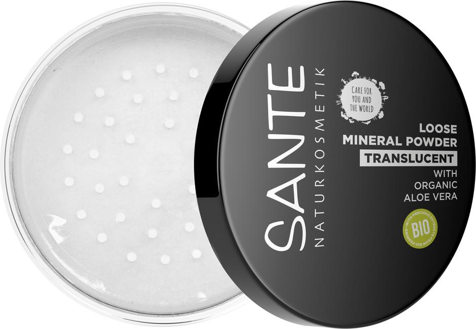 Sante Sypký minerální pudr transparentní - 12ml 12 g