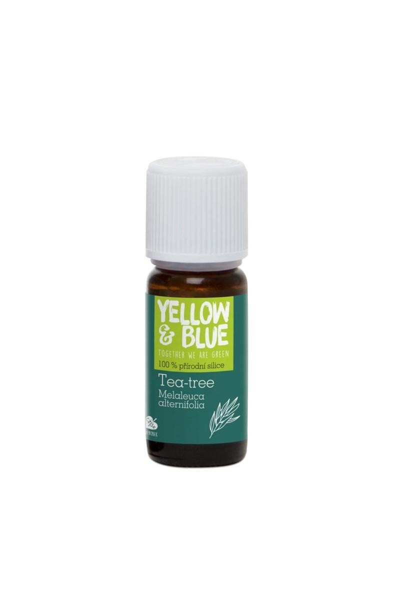 Yellow & Blue Silice tea-tree (10 ml) 10 ml
