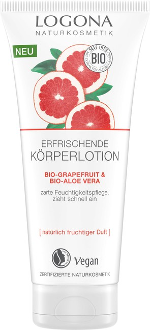 Logona Tělové mléko BIO grepfruit - 200ml 200ml