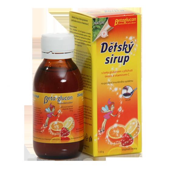 TOPVET Dětský sirup s příchutí ovoce a vitam. C 130g 130 g