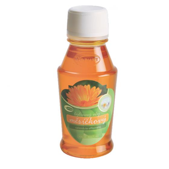 TOPVET Měsíčkový bylinný olej 100ml 100 ml