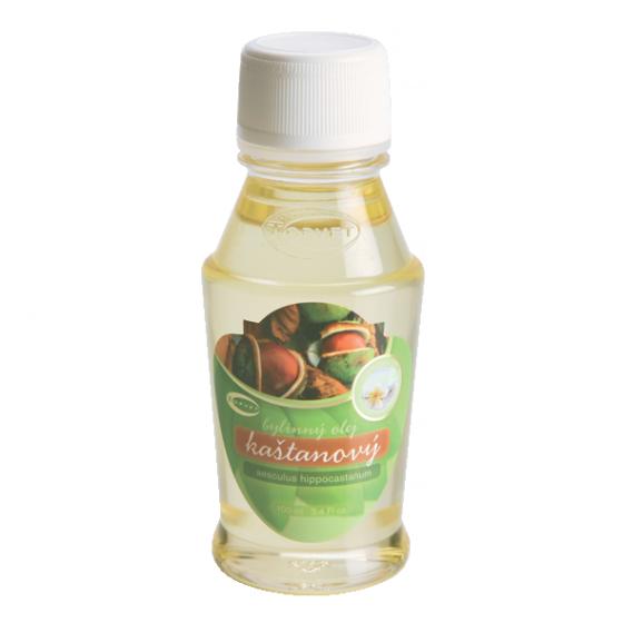 TOPVET Kaštanový bylinný olej 100ml 100 ml