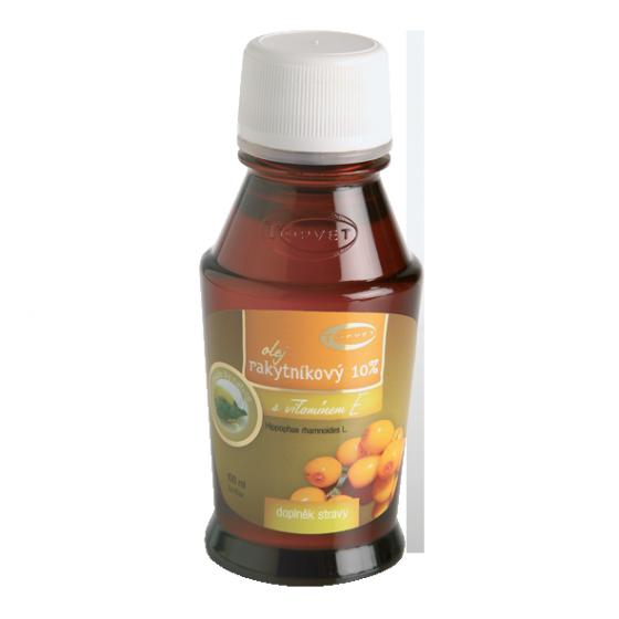 TOPVET Rakytníkový olej 10% 100ml 100 ml