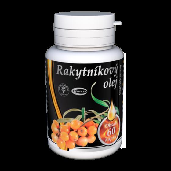TOPVET Rakytníkový olej - tobolky 60ks 60 ks