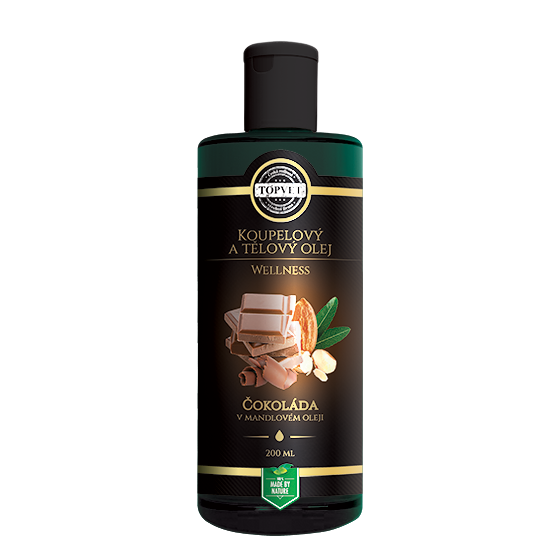 TOPVET Čokoláda v mandlovém oleji 200ml 200 ml