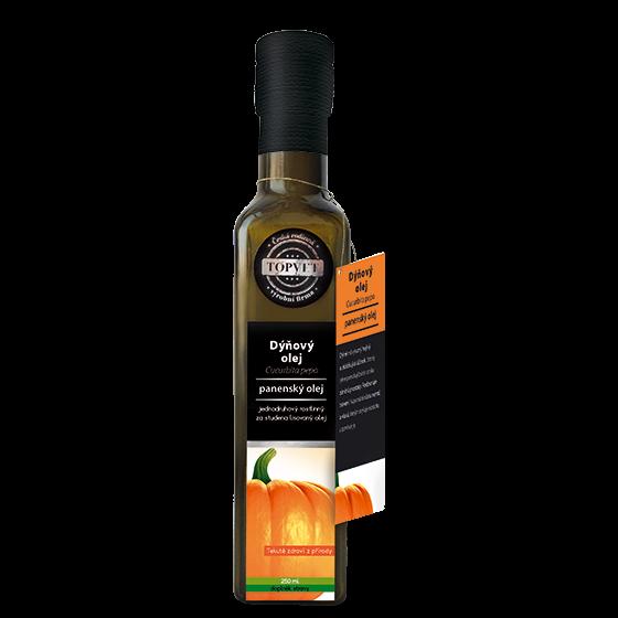 TOPVET Dýňový olej 250ml 250 ml