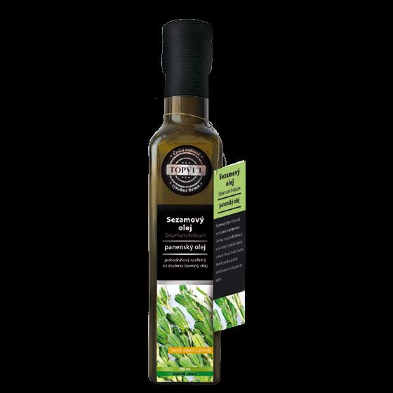 TOPVET Sezamový olej 250ml 250 ml
