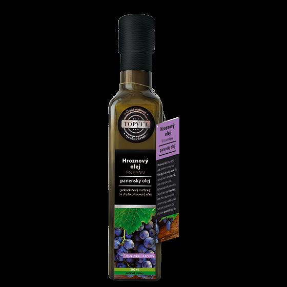 TOPVET Hroznový olej 250ml 250 ml