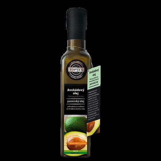 TOPVET Avokádový olej 250ml 250 ml
