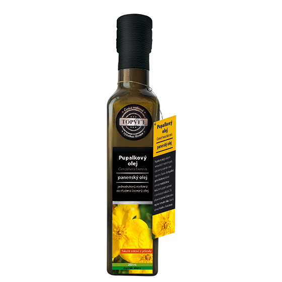 TOPVET Pupalkový olej 250ml 250 ml