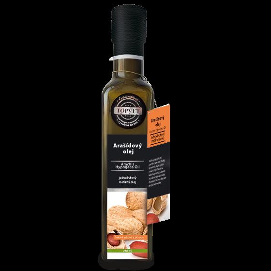 TOPVET Arašídový olej 250ml 250 ml