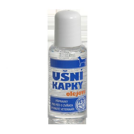 TOPVET Ušní kapky olejové pro psy (i kočky) 50ml 50 ml