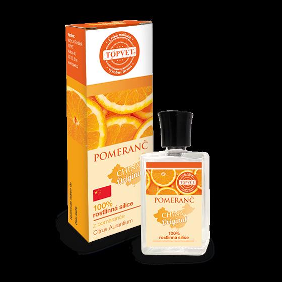 TOPVET Pomeranč - 100% silice 10ml 10 ml