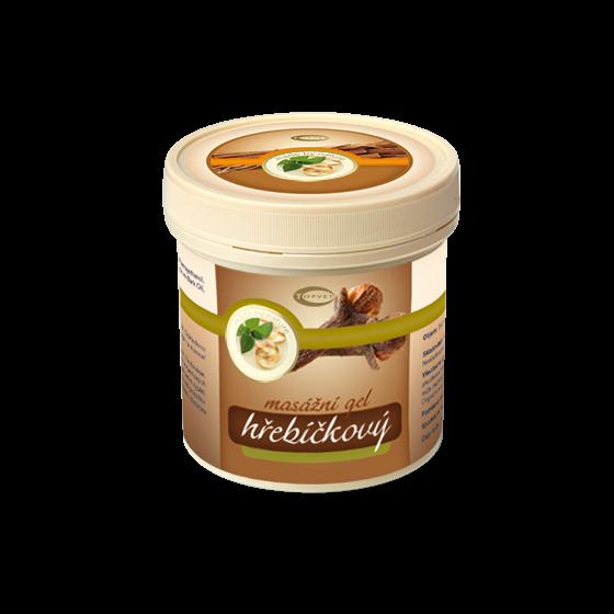 TOPVET Hřebíčkový masážní gel 250ml 250 ml