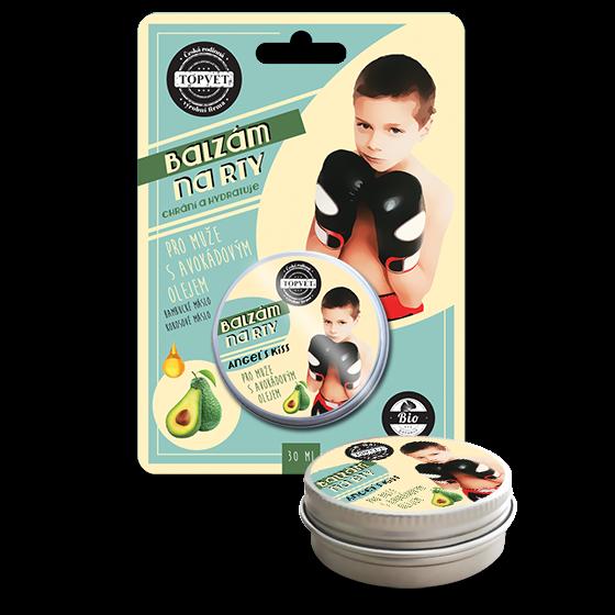 Balzám na rty - Pro muže s avokádovým olejem 30ml
