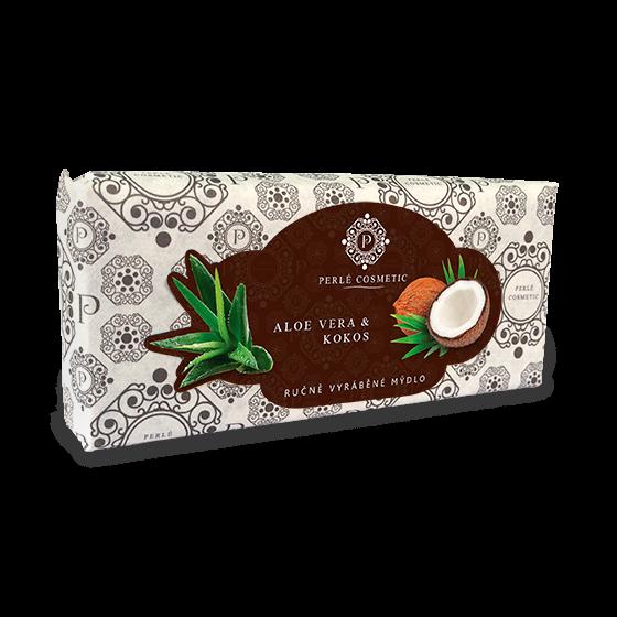 TOPVET Mýdlo Aloe vera a kokos 115g 115 g