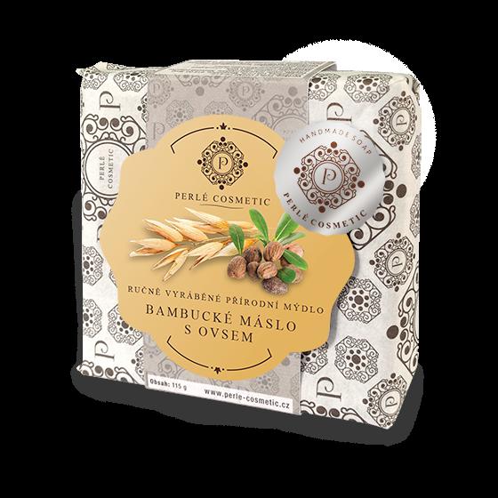 TOPVET Mýdlo Bambucké máslo s ovsem 115g 115 g