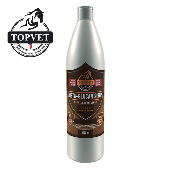 Sirup Beta-Glucan 1000ml - pro koně