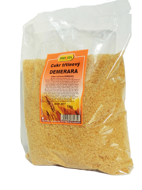 VEGA PROVITA Cukr třtinový Demerera 1kg 1 kg