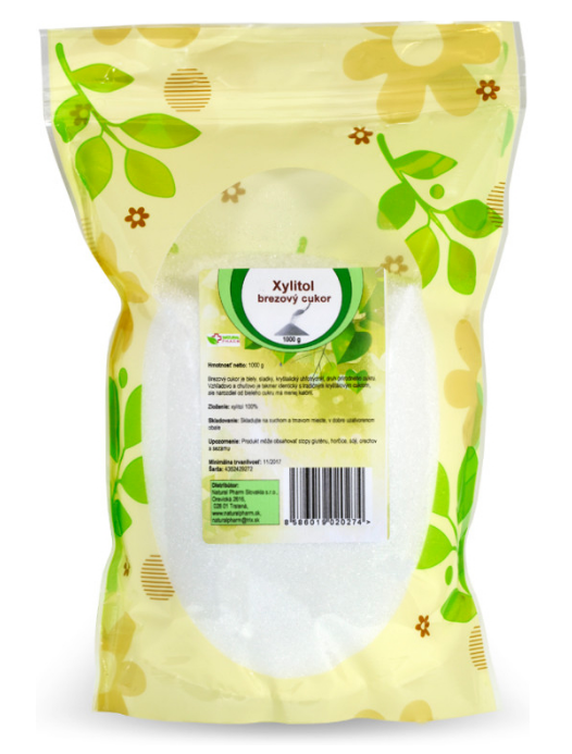 Xilovit Xylitol - cukr březový 1 kg 1 kg