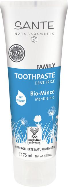 Zubní pasta BIO MÁTA s fluoridy