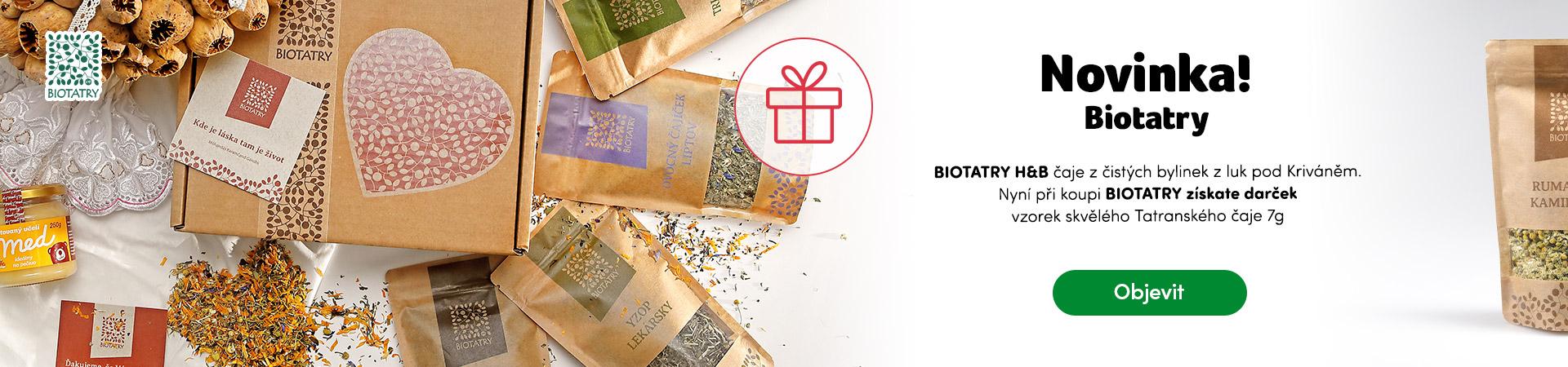 Novinka Biotatry plus dárek