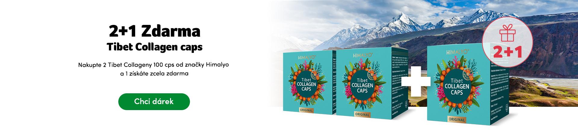 Dárek Tibet Collagen cps 2+1