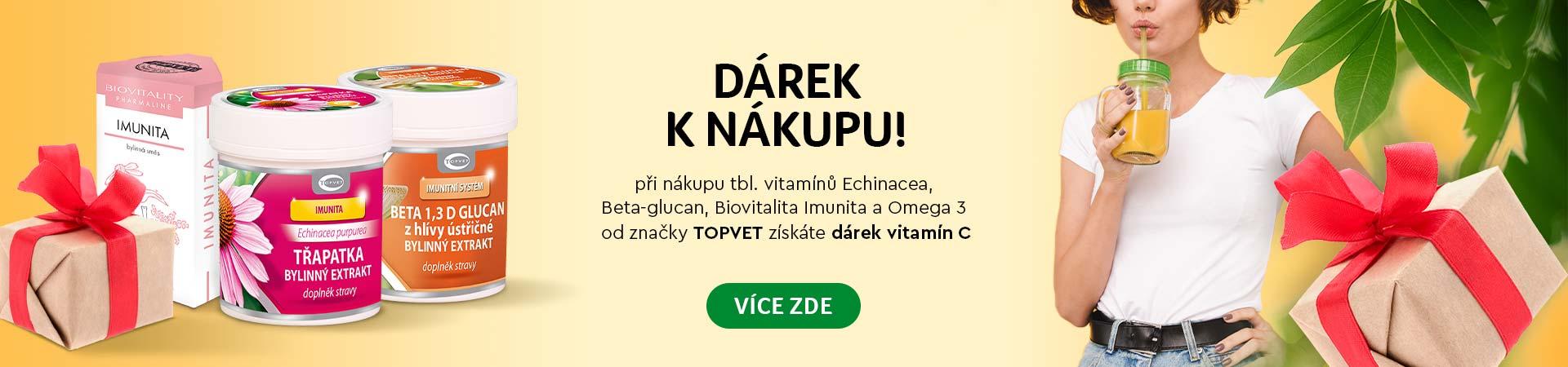 Topvet vitamín C zadarmo