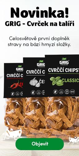 Novinka Grigs chipsy